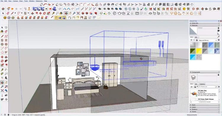 beginner mistakes in using sketchup, Sketchup mistakes overstocking