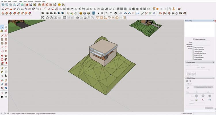 example sketchup, how to sketchup model maximum, how to efective using sketchup