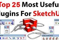 free sketchup plugins, free sketchup extensions, sketchup plugin for modelling, advance modelling