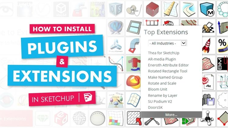 how to add plugin in sketchup, how to intall sketchup plugins, how to intall sketchup extensions, plugins and extensions, install rb files sketchup plugins