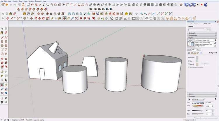how to use sketchup for beginners, starting sketchup, sketchup tutorials, sketchup for beginners, drawing circle