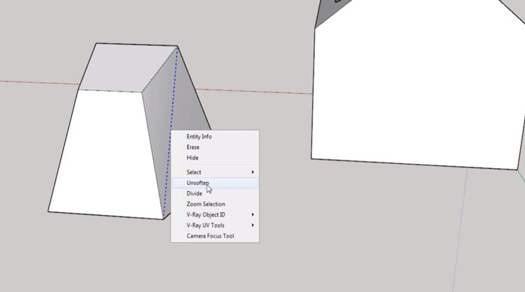 how to use sketchup for beginners, starting sketchup, sketchup tutorials, sketchup for beginners, hidden lines