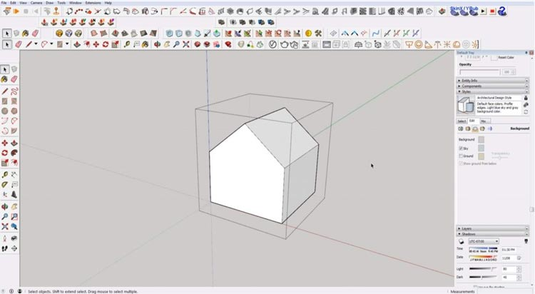 how to use sketchup for beginners, starting sketchup, sketchup tutorials, sketchup for beginners, make group