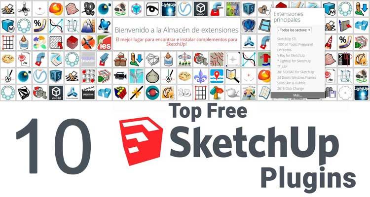 10 best free sketchup plugins for advanced modeling