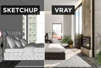 Easy Ways To Render Sketchup With V-Rray, how to sketchup render, tutorial v-ray