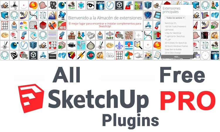 plugins for sketchup, download sketchup plugins pro, download sketchup plugins pack, sketchup plugins collection,