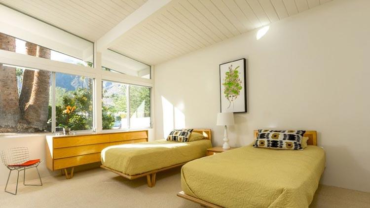 best bedroom ideas with mid-century style, bedroom styles, bedroom inspiration, simple modern mid-century bedroom
